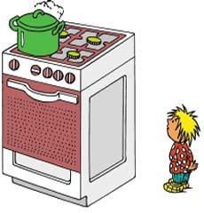 Картинки по запросу газовая плита картинка для детей
