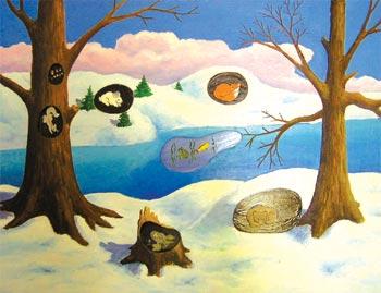 Картинки звери весной в лесу