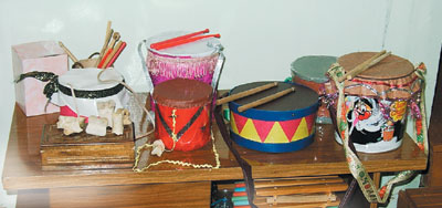 Как сделать барабан для детей в домашних условиях