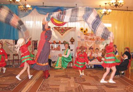 знакомство детей с удмуртской культурой