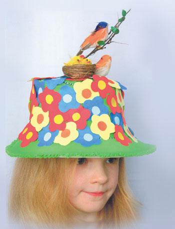 Шляпа для ребенка своими руками фото