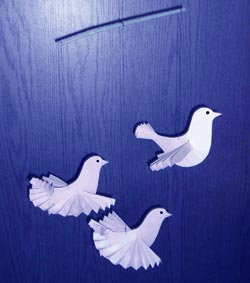 Птички из бумаги своими руками фото
