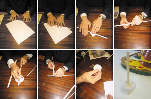 Как сделать волчок для что где когда своими руками